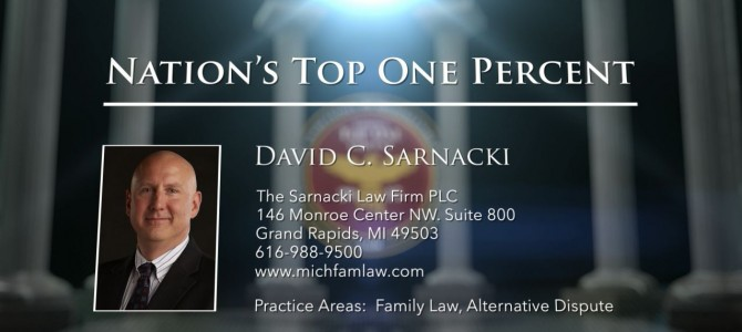 Review of David Sarnacki, Grand Rapids Divorce Lawyer, Best Attorneys of America